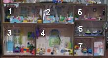кукольный домик - общий вид