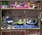кукольный домик - комната 6